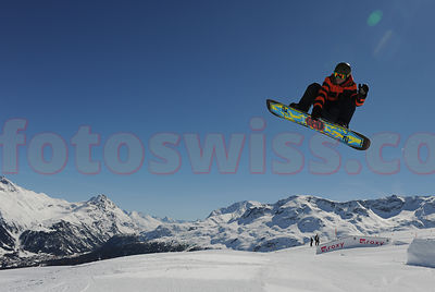 Snowboard Corviglia Mountain St.Moritz Winter Resort photos