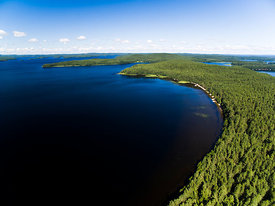 Kelvenne Island in Päijänne National Park