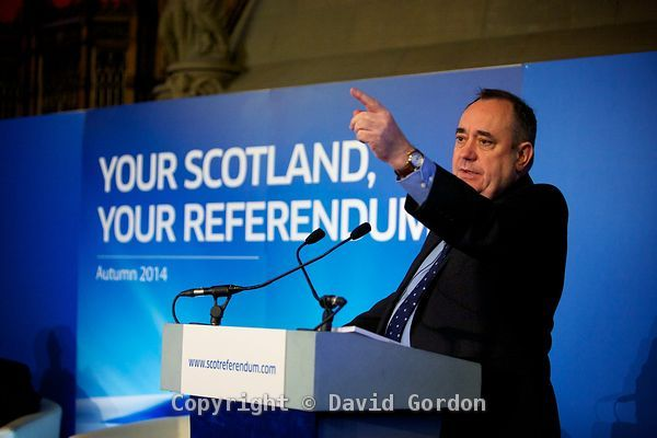 Scottish Referendum Launch photos