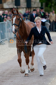 Zara Phillips at Badminton