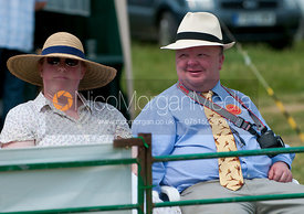 Mr and Mrs Peter Brook, Blaston Hound Show 2010