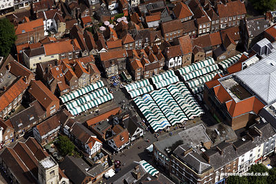 aerial photograph of York Market
