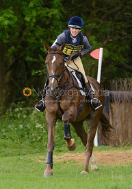 Jaime Hill and HILLVIEW MONTY - Brigstock International Horse Trials, Rockingham Castle 2014