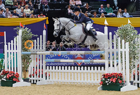 Jordan Young and Calvadon, Horse of the Year Show 2010