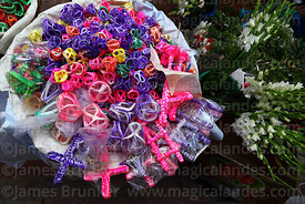 Sugar candy ornaments for sale for Todos Santos festival, Quillacollo, Cochabamba Department, Bolivia