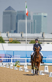 Joris Vanspringel and Limestone, LOCOG Greenwich Park Olympic Test Event, July 2011