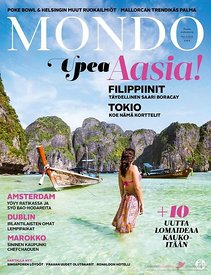 Mondo.fi finnish travel magazine cover
