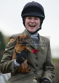 Yasmin Farmer-Day - The Cottesmore Hunt at Tilton on the Hill 10/11/12