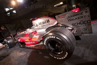 McLaren MP4-23 Launch, Stuttgart, 7th January, 2008