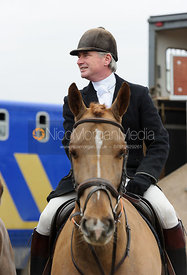 Nick Wright at the meet - The Cottesmore Hunt at Ranksboro, 26-11-13.