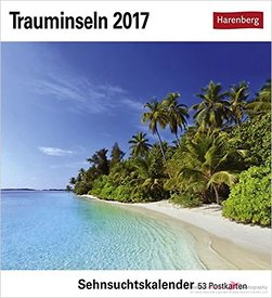 Calendar cover Trauminseln 2017 Maldives