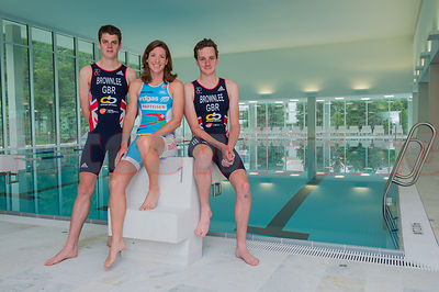 Triathlon Olympic Medalists London 2012 OvaVerva Spa & Sport Center StMoritz Opening photos
