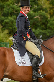 A happy Kitty King after taking the lead in the CIC 3*