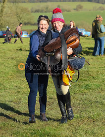Holly Campbell, Clare Bell - The Melton Hunt Club Ride