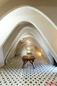 Spain, Catalonia, Barcelona. Casa Battlo, interior