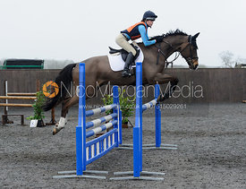 Alisha Selby - Class 6 - CHPC Eventer Trial, April 2015.