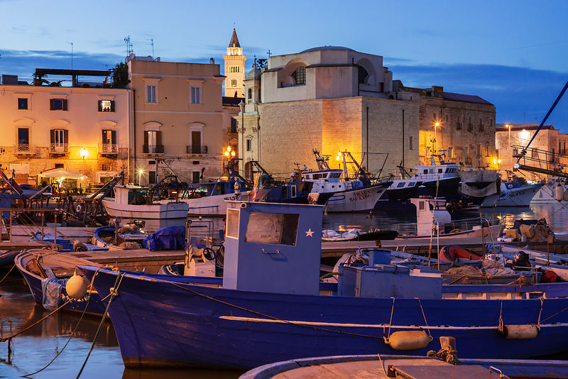 The Fishing Harbour at Dusk