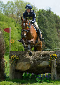 Ibby Mcpherson and BALLINGOWAN ECHO - Rockingham Castle International Horse Trials 2016