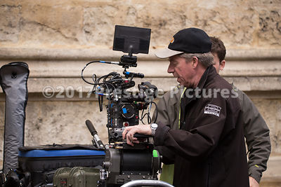Red Dragon 6K Video Camera being rigged for second unit shooting on Transformers 5 in Oxford