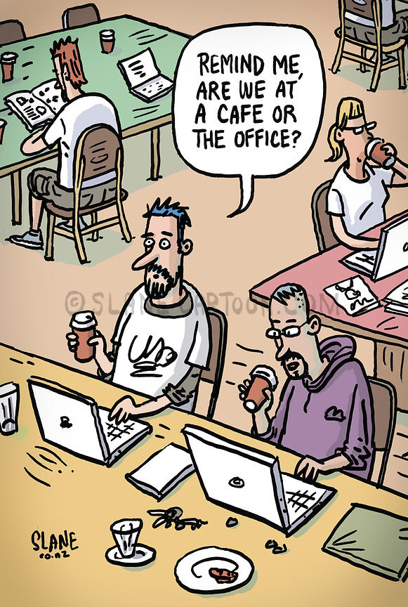Cafe or Office
