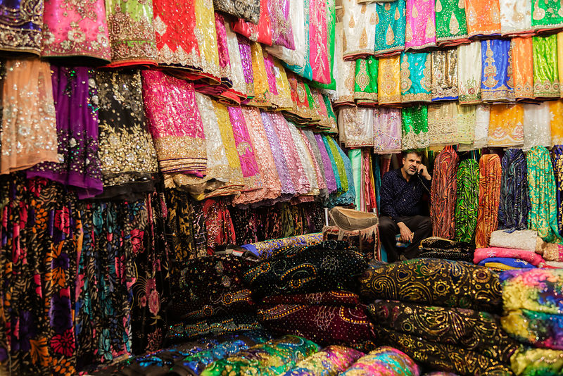 Shop Keeper in a Bazaar in Shiraz