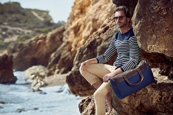 Commercial Fashion Photographer Men Handbags Barcelona Spain