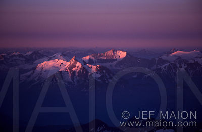 Sunrise on the Alps
