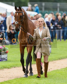 Abigail Boulton and TILSTON TIC TOC at the trot up, Land Rover Burghley Horse Trials 2018