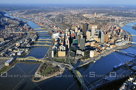 Downtown Pittsburgh Pennsylvania