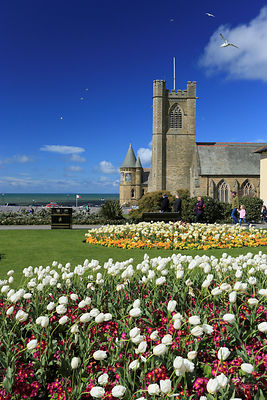 Old College & St Michaels church, Aberystwyth