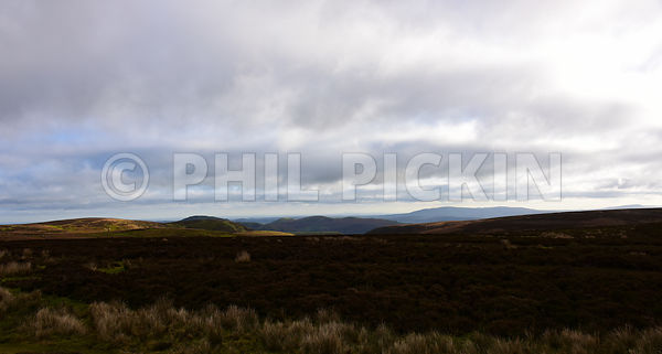 Late autumn on the Long Mynd