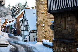 Much Wenlock snow