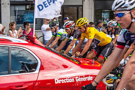 The Start of Stage 5 of Tour de France 2012 (Rouen)