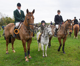 Mark and Tanya Kyle - Quorn Hunt Opening Meet, The Kennels 26/10