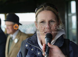 Claire Lomas - Quorn Hunt Point to Point 2014