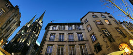 Cathedral district, Clermont ferrand