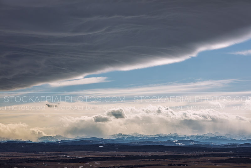 Chinook Clouds, Southern Alberta