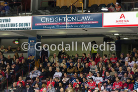 Oshawa Generals against the North Bay Battalion on January 23, 2015