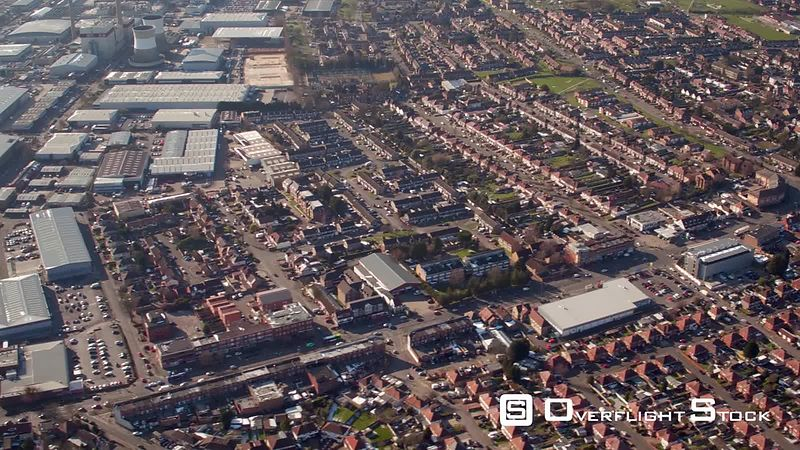 Aerial view of Slough Trading and Industrial Estate, Slough, United-Kingdom
