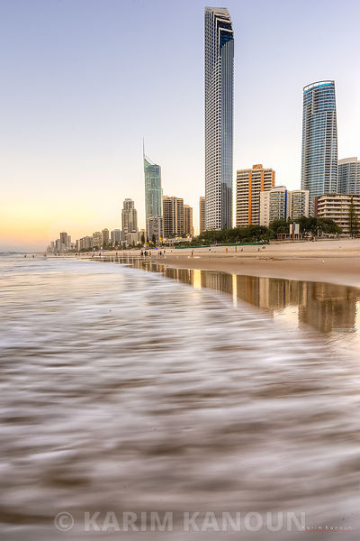 Surfers Paradise beach architecture