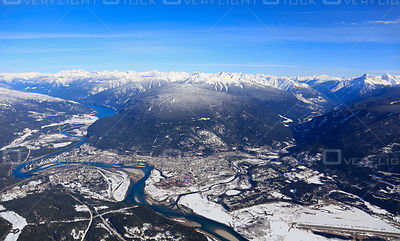 Revelstoke BC in Winter
