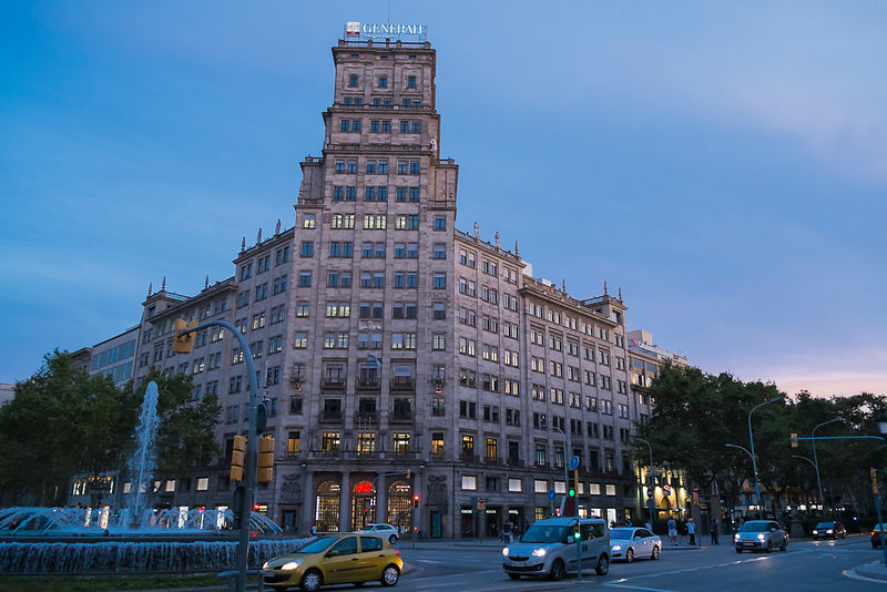 Generali Insurance Building, Barcelona, Spain