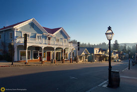 Sunrise on Broad St, Nevada City