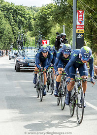 Team Movistar - Team Time Trial 2015
