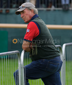 Captain Mark Phillips - dressage phase,  Land Rover Burghley Horse Trials, 4th September 2014.