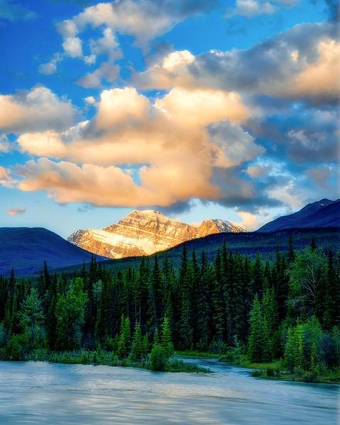 Athabasca River Sunrise