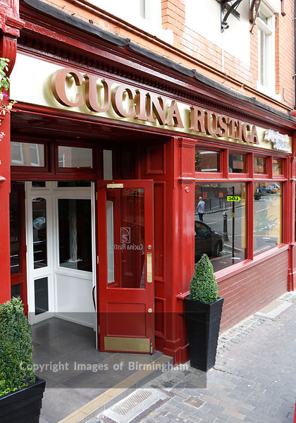 Cucina Rustica restaurant, The Jewellery Quarter in Birmingham, England.