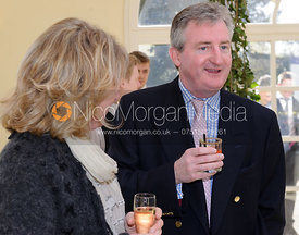 Hunt Secretary Clare Bell and John Ferguson