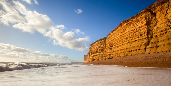 Cliffs at Burton Bradstock Dorset
