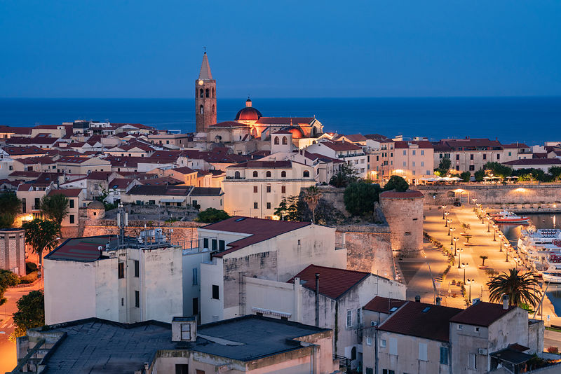 Elevated View of the Centro Storico at Dawn